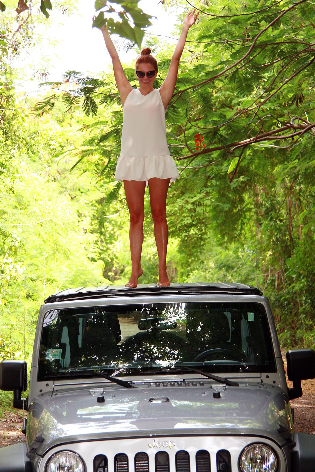 Marta Tryshak exploring VIeques Island on a Jeep | Escape ...