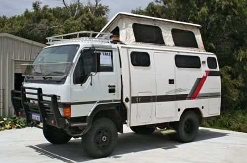 Canter 4x4 Camper Motorhome For Sale Expedition Portal