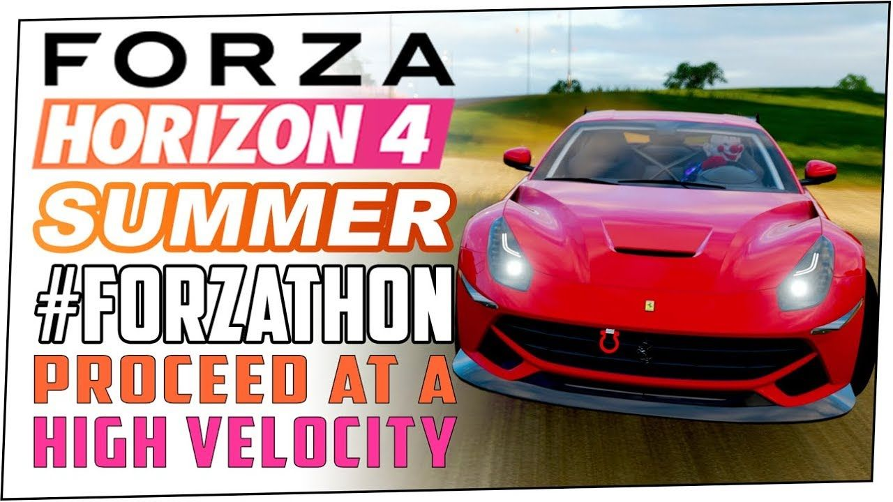 Proceed At A High Velocity Summer Forzathon Forza Horizon 4
