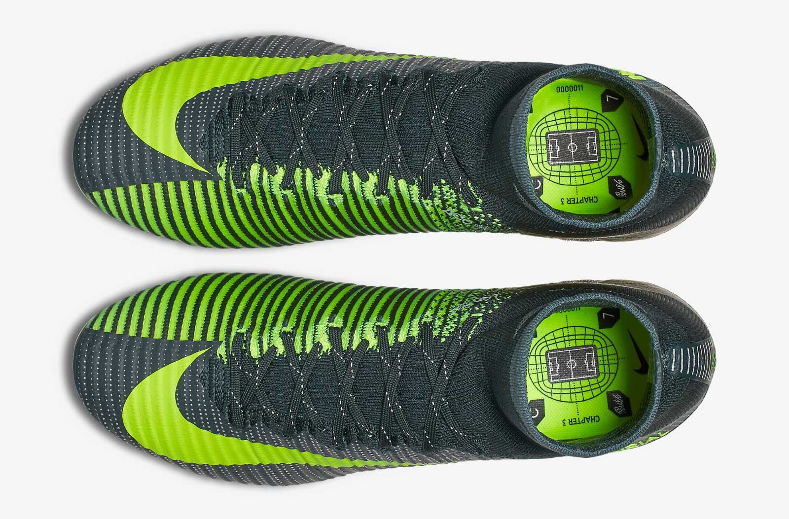 7b82ee2a1f2 The dark green Nike Mercurial Superfly 2016-2017 Cristiano Ronaldo  Discovery Boots celebrate CR7 s all-important transfer to Manchester United  in 2003.