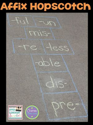 Affix hopscotch check out this grammar activity plus four more affix hopscotch check out this grammar activity plus four more engaging grammar games for upper elementary students this blog post contains freebies too ibookread Download