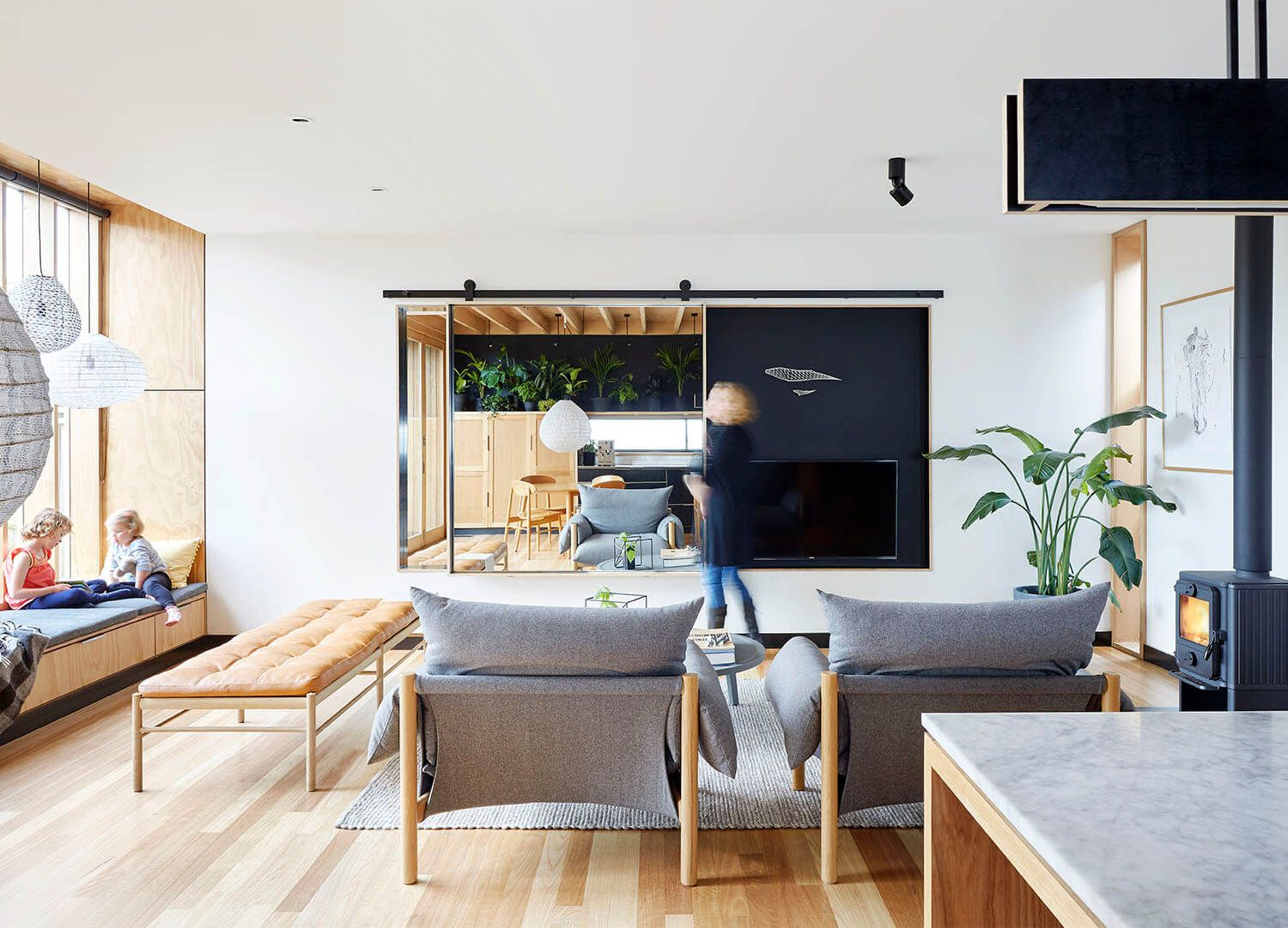 Wooden Box House by Moloney Architects Home