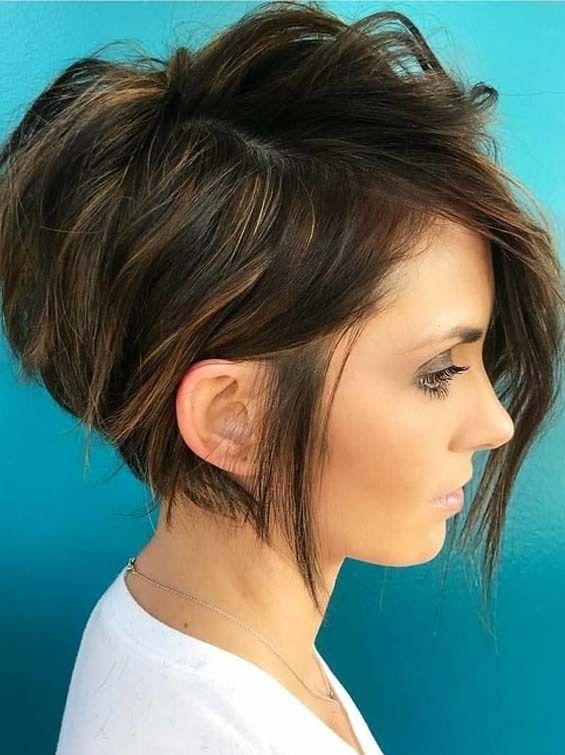 Trending Edgy Short Haircut Ideas For Women 2018 Style Short