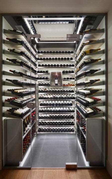Surge In S Of Luxury Wine Cellars