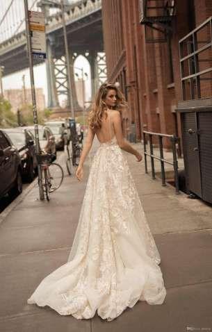 Beach Wedding Dresses Online Usa 22 Top Elegant Berta Lace Liques A Line