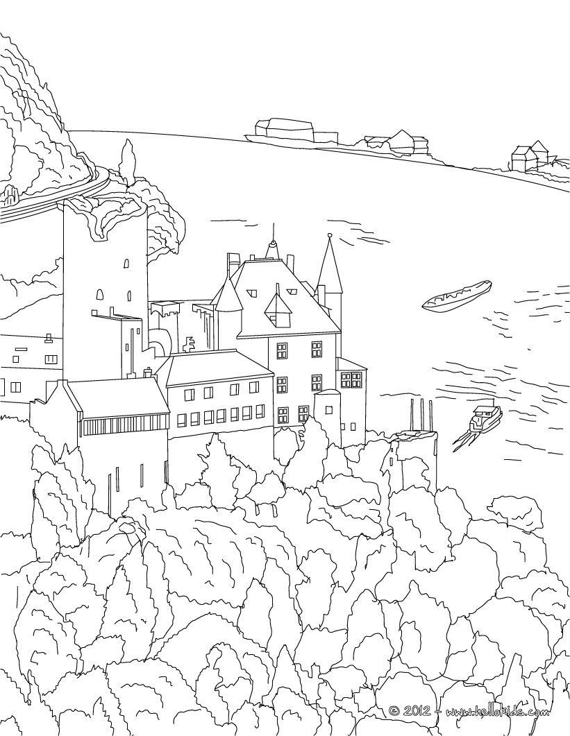 Ausmalbilder Eiskönigin Schloss : Schloss Heidelberg Wcb Coloring 2 Pinterest Heidelberger