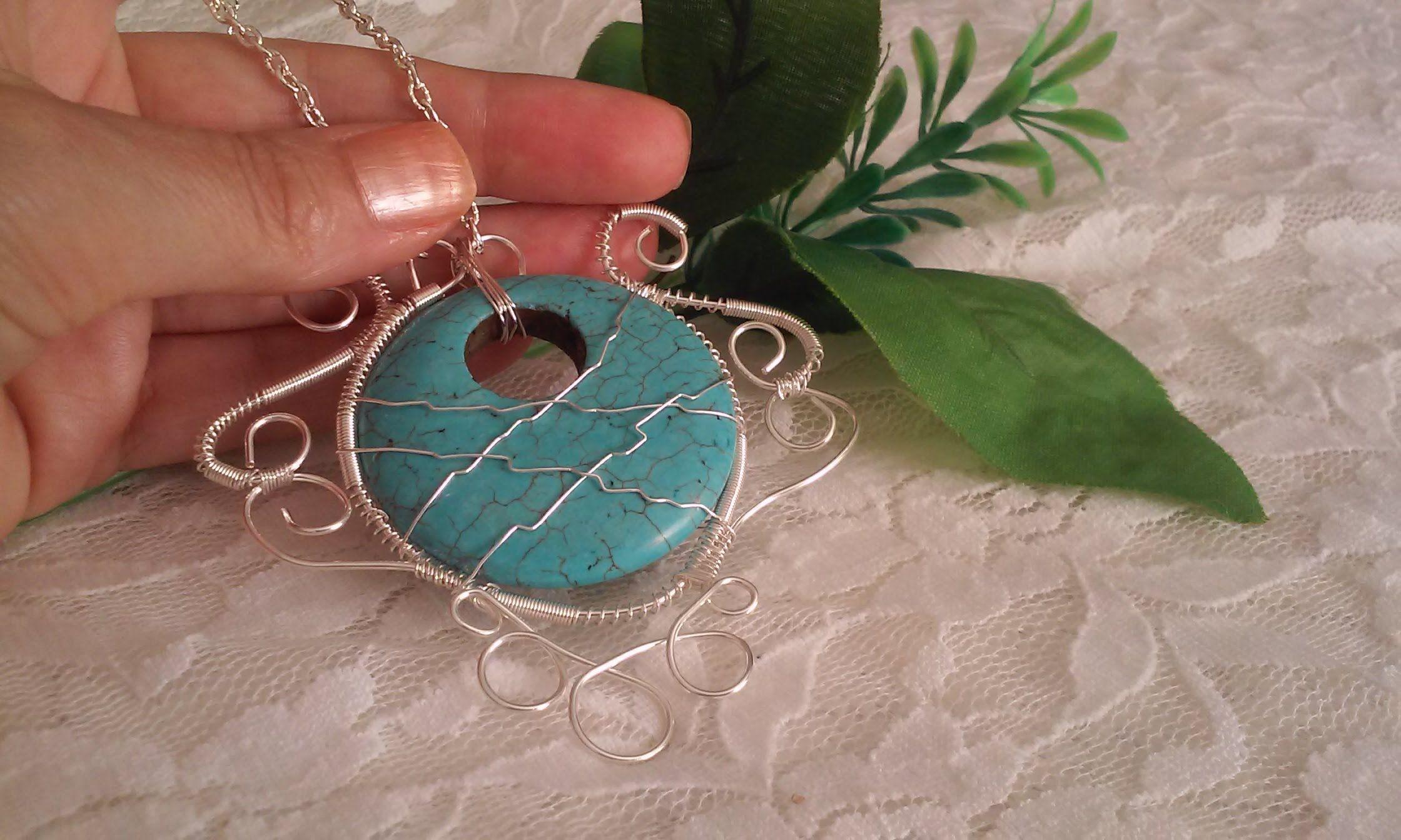 3fce8edc004b Collares artesanales como hacer collares de moda bisuteria paso a paso g.