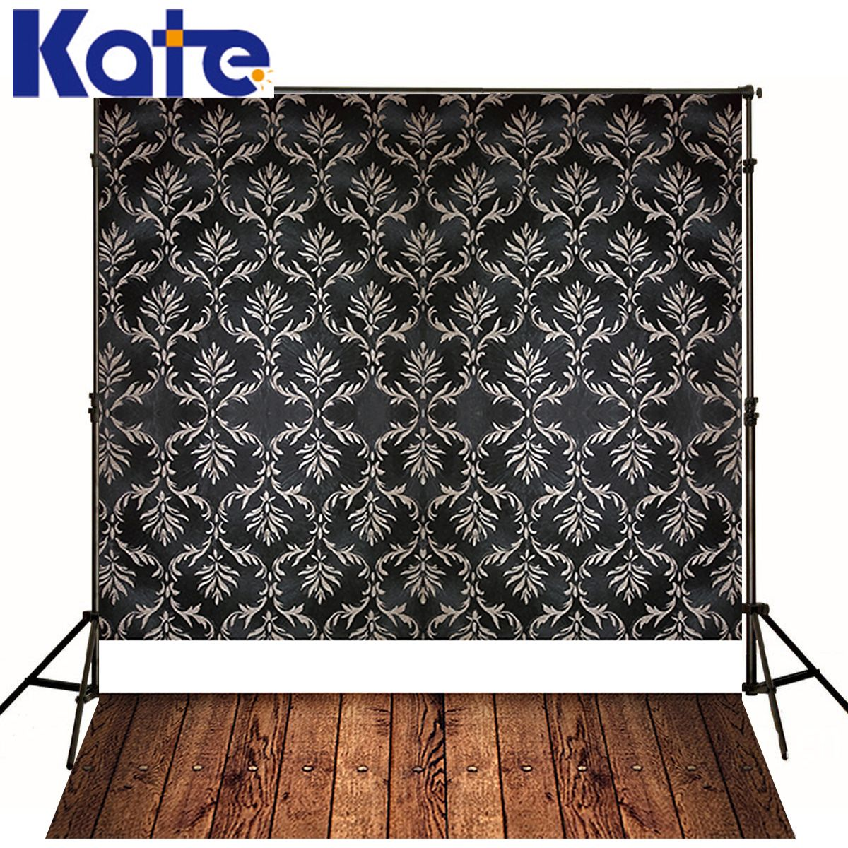 Find More Background Information about Backdrops Photography Photo Studio  Background Black With White Totem Brown Wood