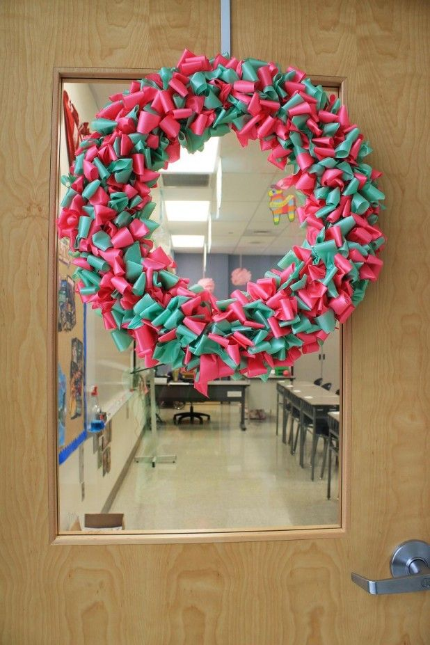Classroom Door Decorating Ideas Christmas Decoration For Classroom ...