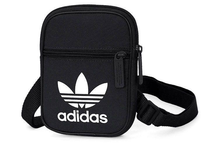 e0c11ba58c2 ... hot sale online 894d3 f30b6 Adidas Originals Festival Trefoil Shoulder  Backpack Classic BlackWhite BK6730 adidas ToiletryBag ...