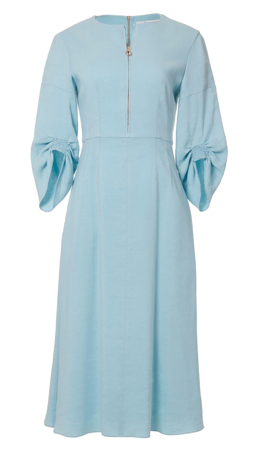 2d10927fdf TIBI S MARTA LINEN DRESS