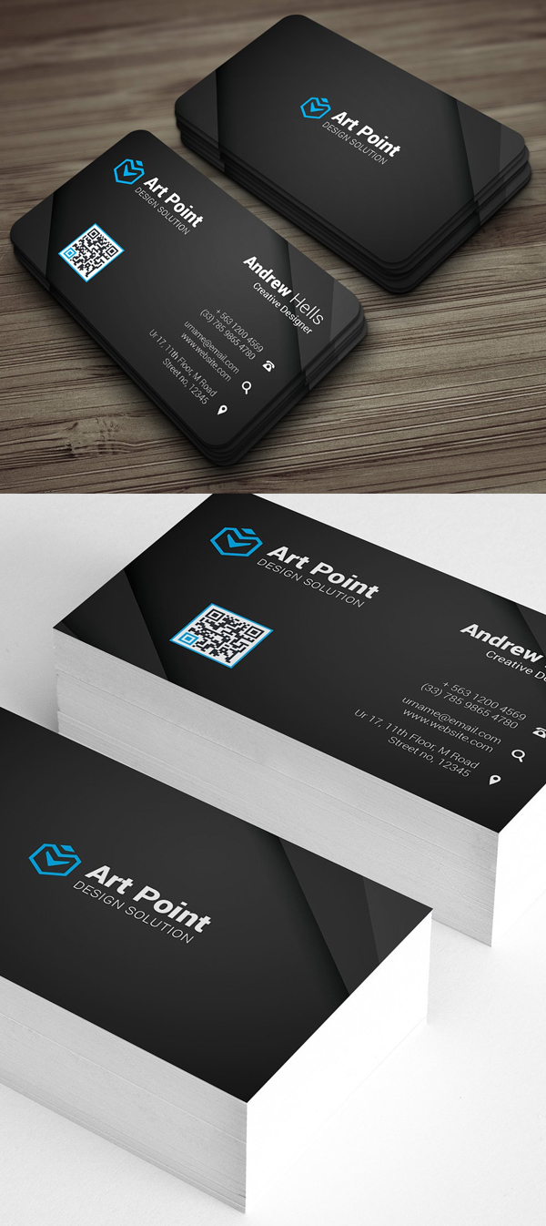 26 Clean Multipurpose Business Card Templates Print Ready Design In 2020 Business Card Mock Up Black Business Card Free Graphic Design