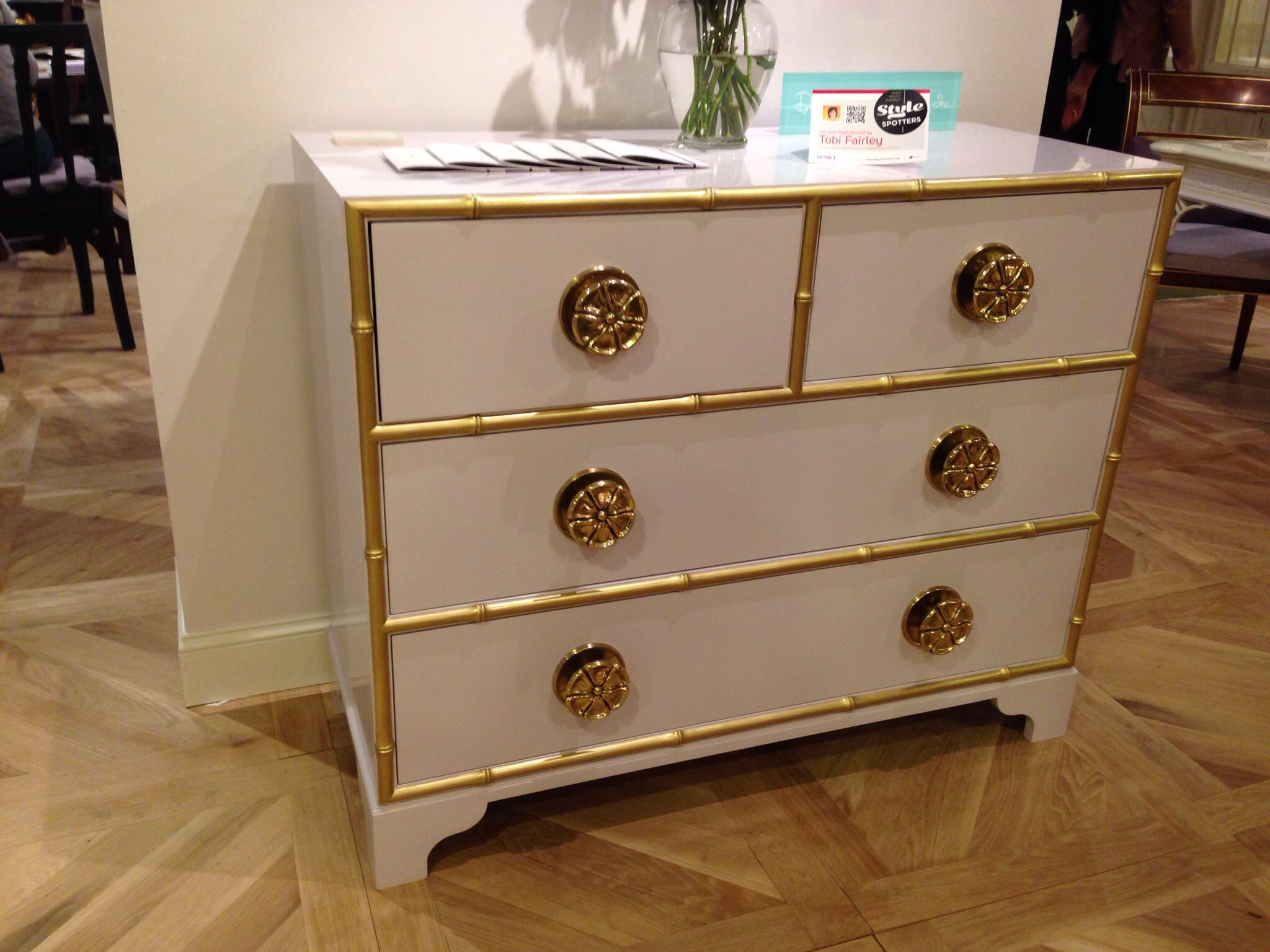 Stunning Lilac And Gold Chest From @Kindel Furnitureu0027s Dorothy Draper  Collection #hpmkt In Interhall