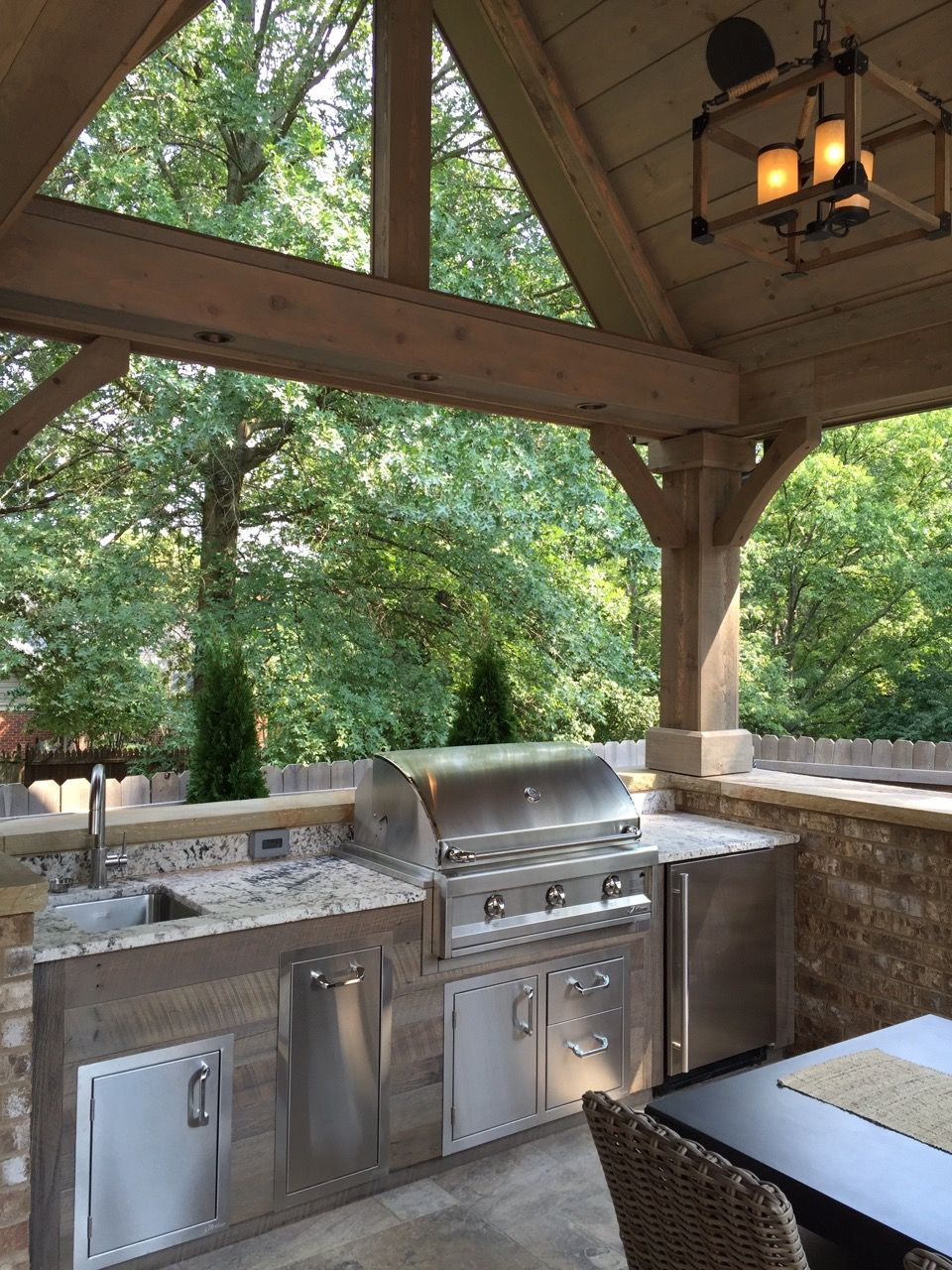 outdoor kitchen with countertops by prestige marble granite outdoor kitchen on outdoor kitchen id=21819