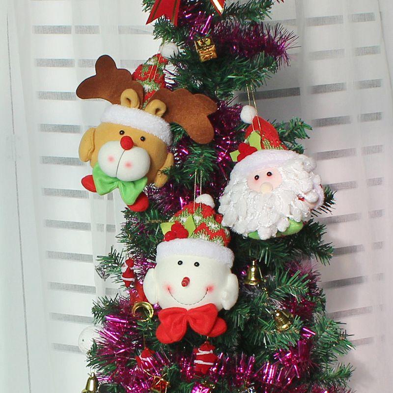 large size new christmas ornaments christmas tree santa claus pendants drop christmas decorations for home decoration - Christmas Decorations Large Santa Claus