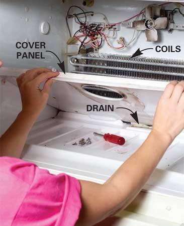 Refrigerator Repair How To Repair A Refrigerator Refrigerator