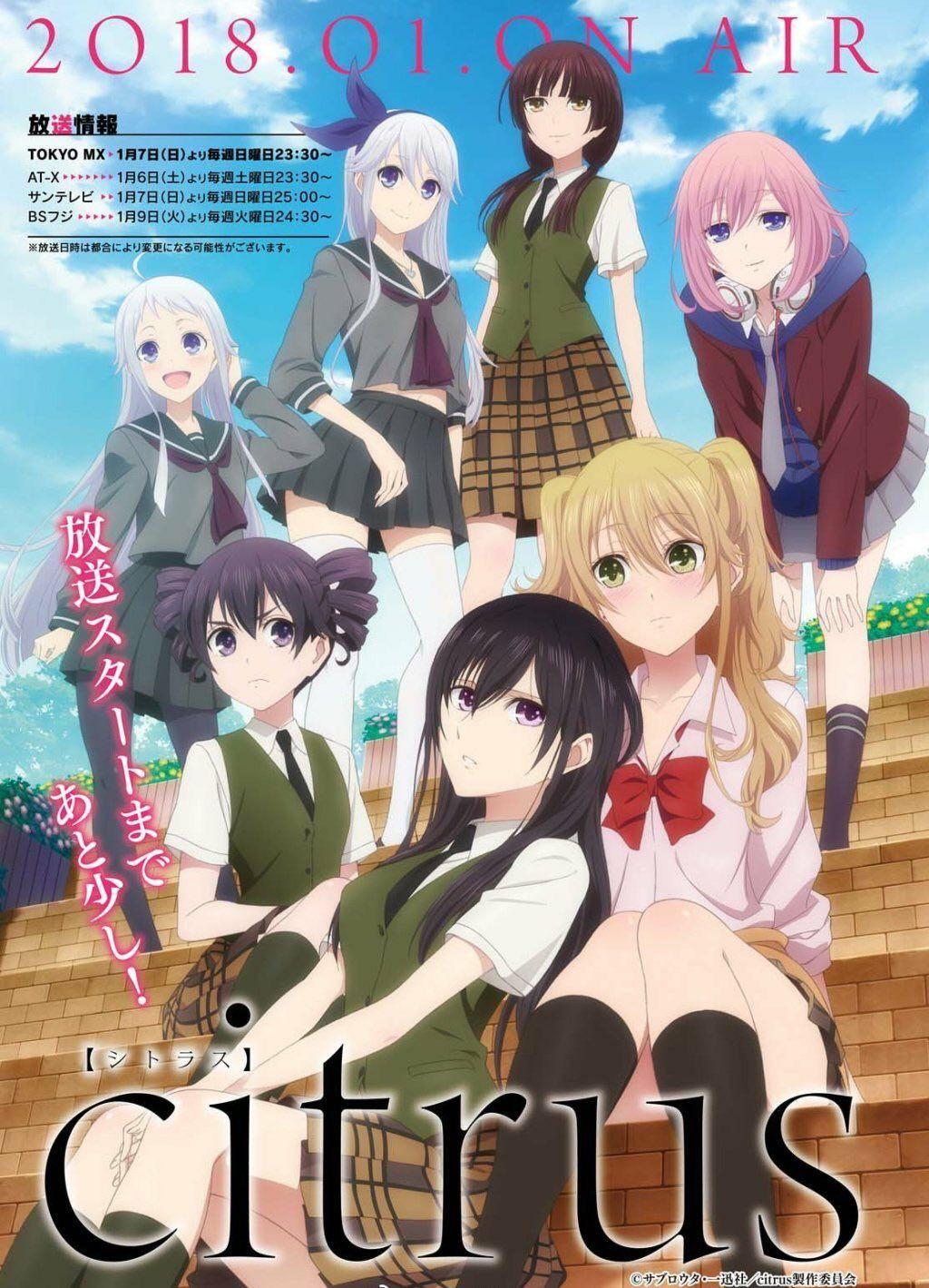 Pin de Nhu em giấc mộng bình yên Citrus anime, Manga