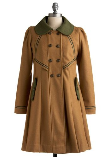 Stylish to the Chorus Coat by Dear Creatures