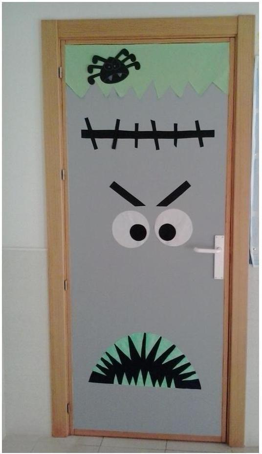 puerta de halloween 2015 de la clase de primaria cole