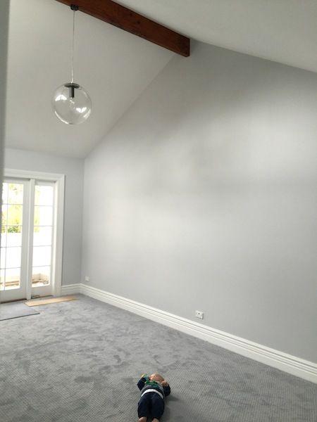 Our Main Bedroom Gray Bedroom Walls Grey Carpet Living Room Living Room Grey