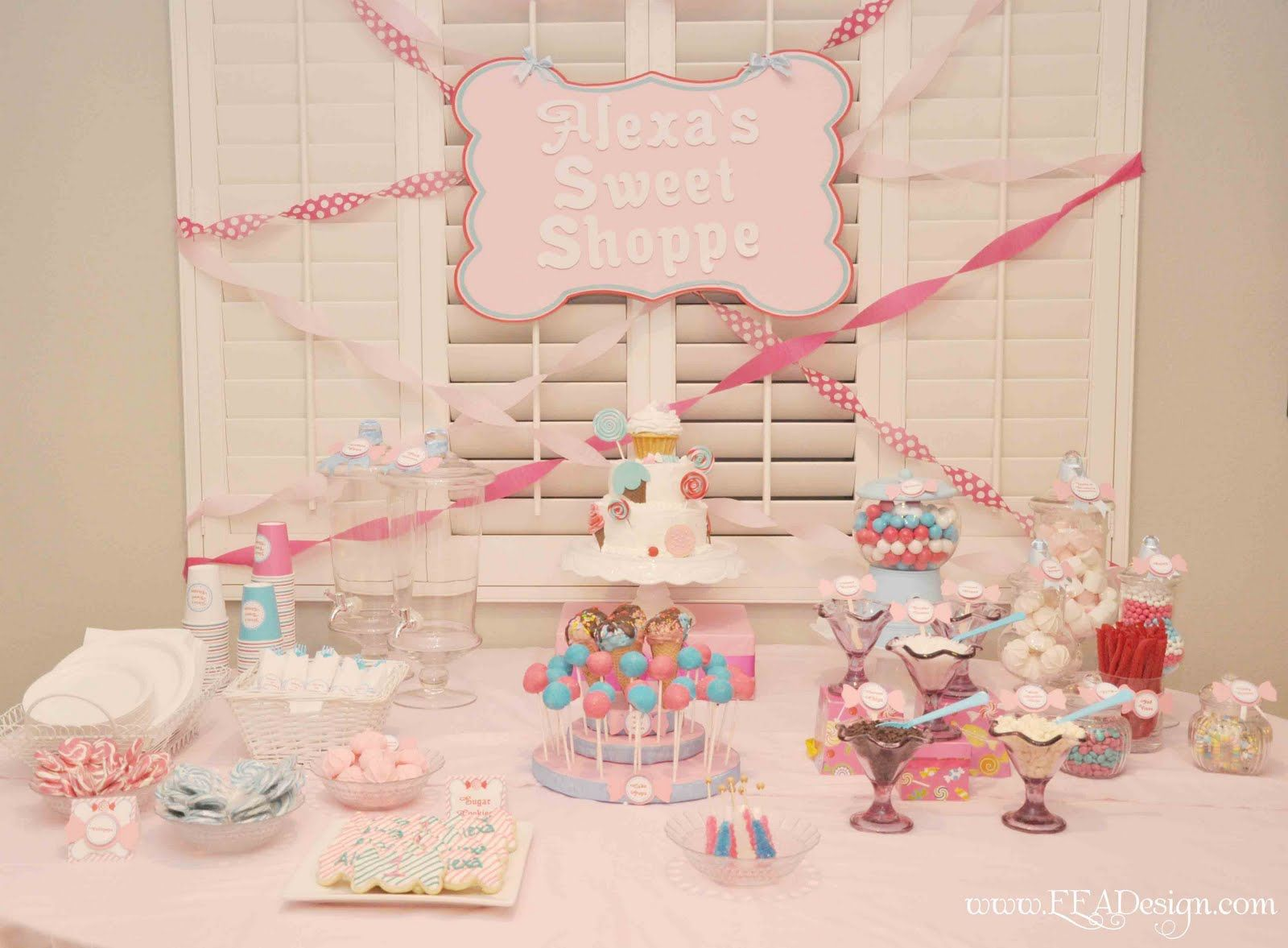 Birthday craft ideas for girls - 50 Birthday Party Themes For Girls