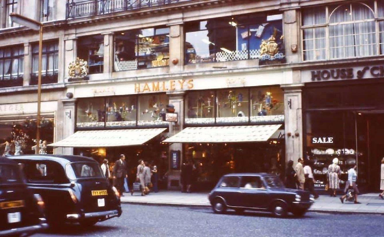Regent Street Central London England In 1978