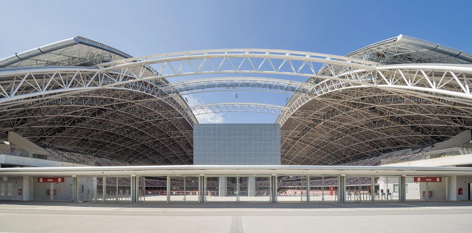 Centro Deportivo Singapur Dp architects, Green