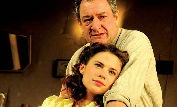 A View From The Bridge By Arthur Miller Ken Stott And Hayley Atwell Duke Of Yorks Theatre London 2009
