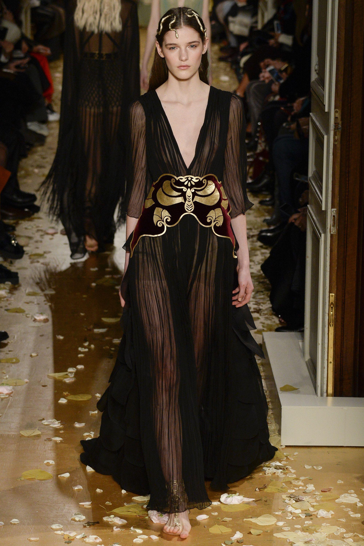 Valentino Spring 2016 Couture Fashion Show - Inga Dezhina Moth on ...