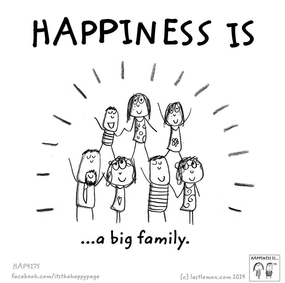 Pin by Miranda Jenkins on my happy thoughts | Big family ...