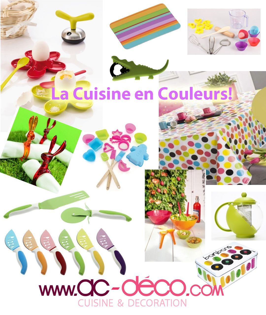 La cuisine est en couleurs des ustensiles de cuisine color s des nappes en couleurs vifs des - La cuisine des petits ...