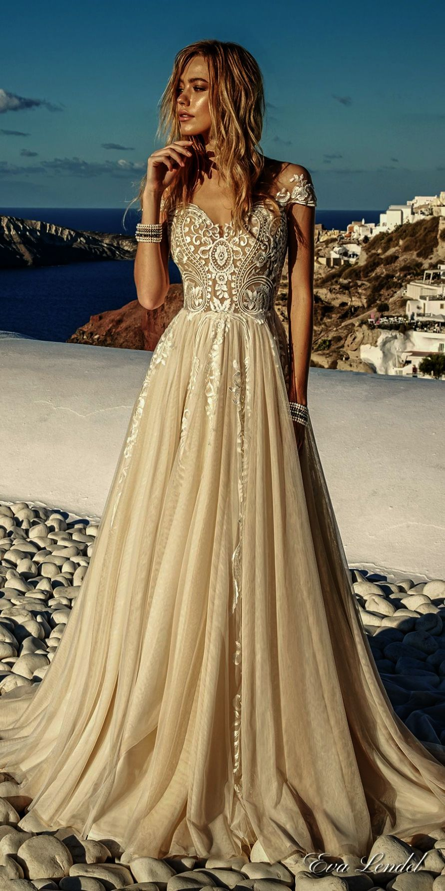 Lace mermaid wedding gowns with long trains  Lace Mermaid Wedding Gowns With Long Trains Lace Wedding Dresses No
