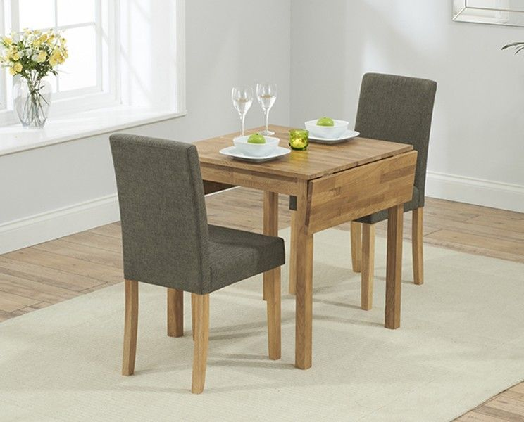 Super Oxford 70Cm Solid Oak Extending Dining Table With Brown Mia Creativecarmelina Interior Chair Design Creativecarmelinacom