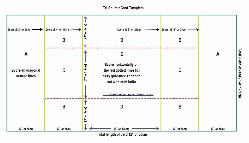 Tri Fold Card Template Free Best Of The Per S Nickety Scrapper Tri