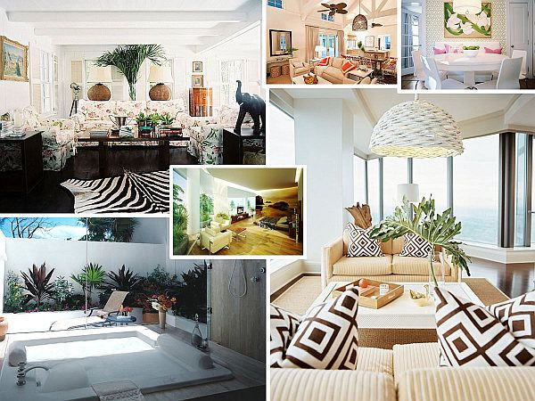 Make A Splash With Tropical Interior Design Tropical Interior Decor Tropical Interior Tropical Home Decor