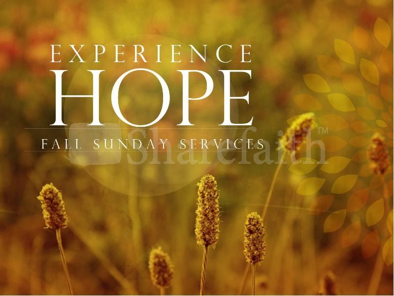 Experience hope fall powerpoint sermon series and template experience hope fall powerpoint fall thanksgiving powerpoints toneelgroepblik Choice Image