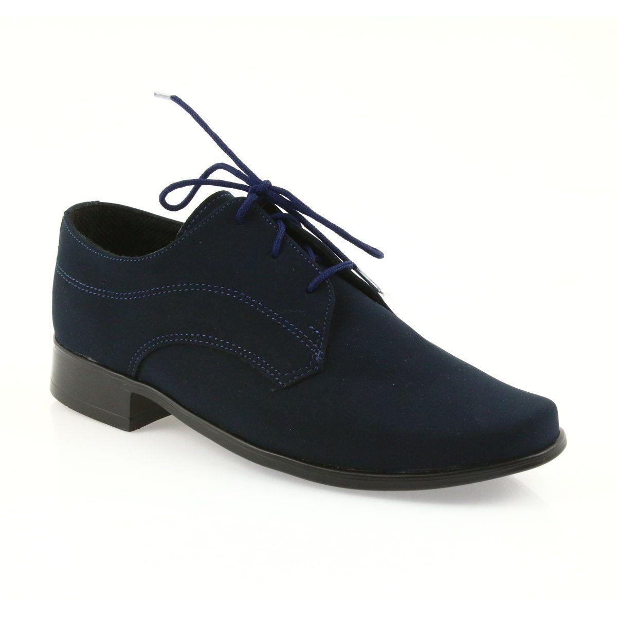 Miko Shoes Children Suede Communion Shoes Navy Communion Shoes Shoes For School Shoes