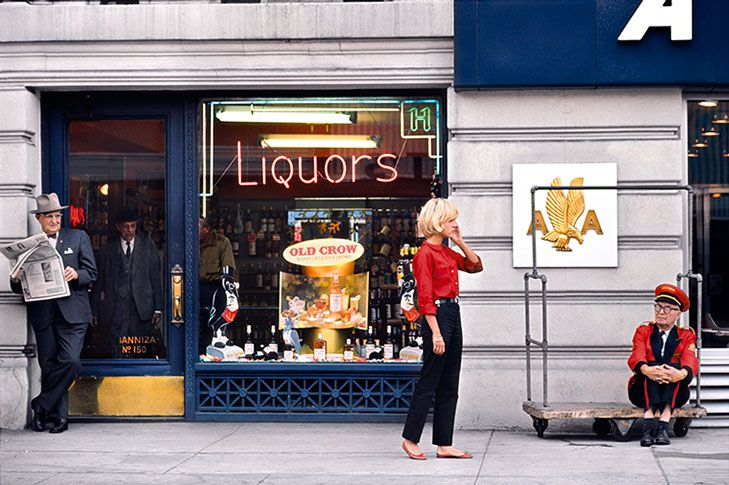 Jean-Marie Perier - Photographe - Sylvie Vartan. New York, 1963