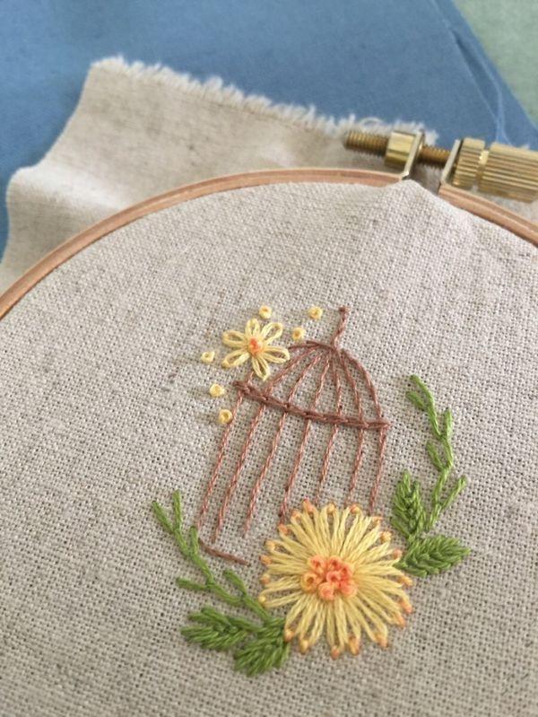 Pin von Laurie Ehl auf Hand embroidery | Pinterest | Schmetterlinge ...