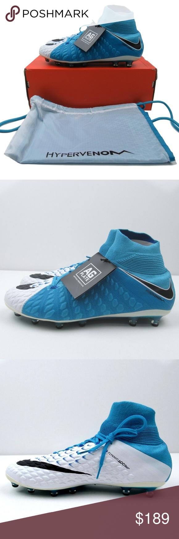 a058b33596f4 Nike Hypervenom Phantom 3 AGPro 11.5 Soccer Cleats Nike Hypervenom Phantom  III DF AG-Pro Soccer Cleats Style - 852550-104 Men s Size 11.5 Brand NEW in  ...
