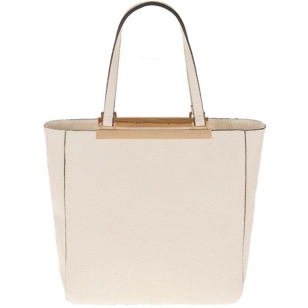 Parfois Light Cream Bar Cross Bag 20 Liked On Polyvore