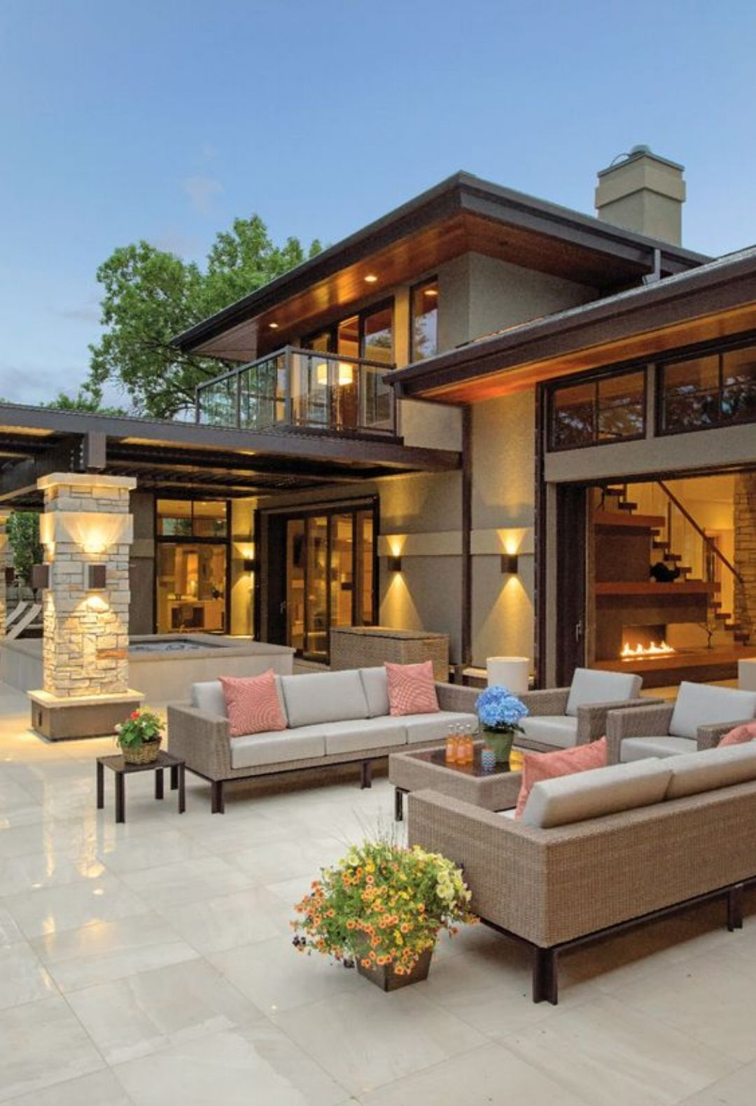 54 Exceptional Outdoor Living Spaces | Flow, Elegant and House