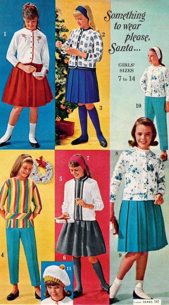 1960s Fashion For Women Girls