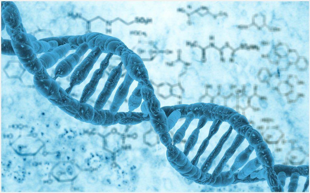 Human DNA Biology Wallpaper