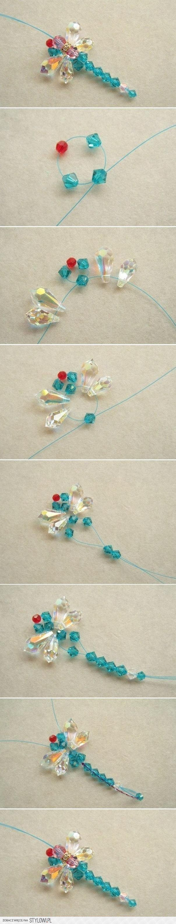 DIY Beaded Dragonfly DIY Projects | UsefulDIY.com na Stylowi.pl