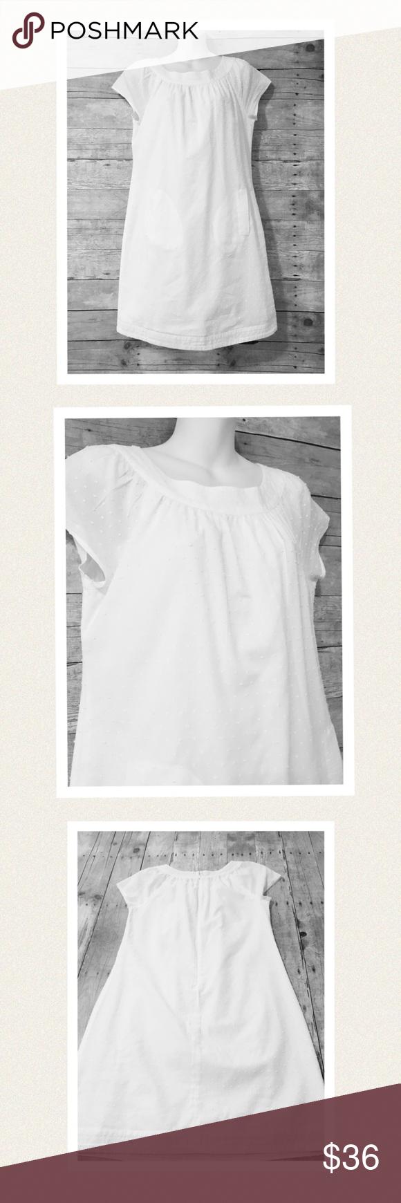 jcrew dotted swiss soft white summer dress summer dresses