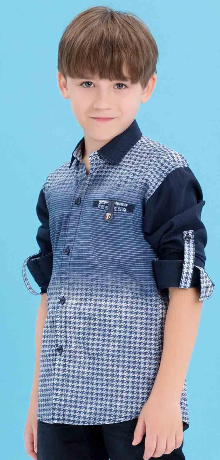 7454204b4f Edenrobe blue shirt with jeans latest eid dresses for little boys in  Pakistan 2017