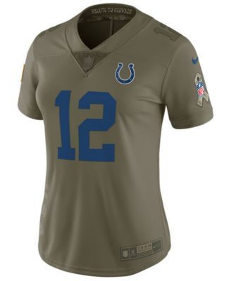 low priced c689a ee172 Nike Women's Andrew Luck Indianapolis Colts Salute To ...
