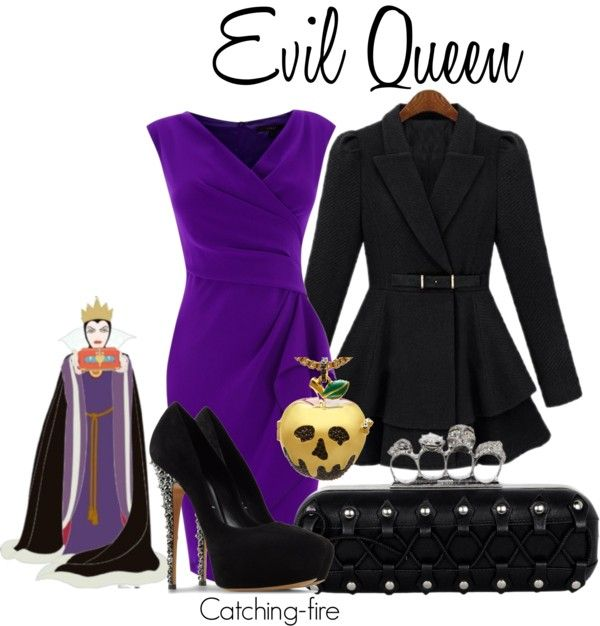 """""""Evil Queen"""" by catching-fire on Polyvore"""