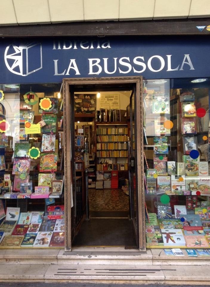 #Librerías La Bussola, Turín.